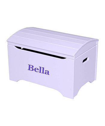 Lavender Personalized Treasure Chest