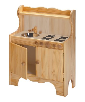 Natural Play Kitchen
