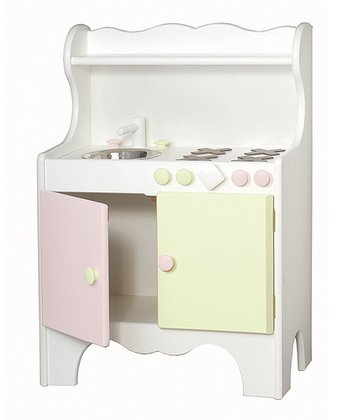 Pink & Green Play Kitchen