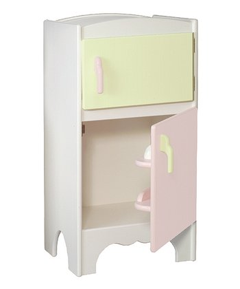 Pink & Green Play Refrigerator