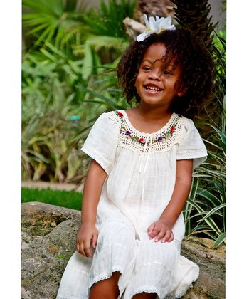 Natural Lucy Ibicenco Dress - Infant, Toddler & Girls