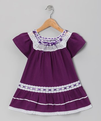 Plum Lucy Ibicenco Dress - Toddler