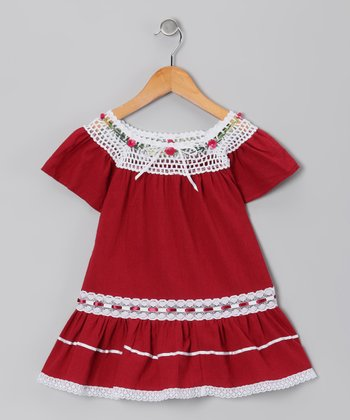 Red Lucy Ibicenco Dress - Infant, Toddler & Girls