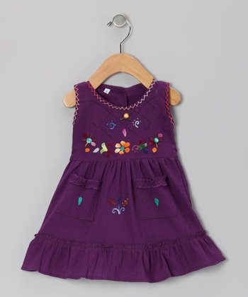 Purple Leonor Dress - Infant, Toddler & Girls