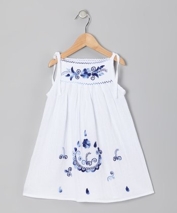 Monaco Blue Lolita Dress - Infant, Toddler & Girls