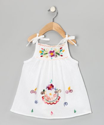 White Lolita Dress - Infant, Toddler & Girls