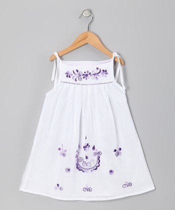 Purple Lorena Dress - Infant, Toddler & Girls
