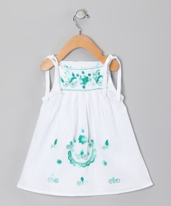 Emerald Lorena Dress - Infant, Toddler & Girls