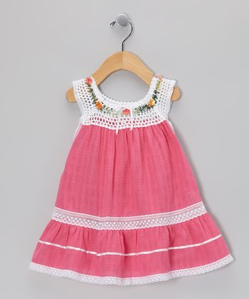 Magenta Lucila Dress - Infant, Toddler & Girls