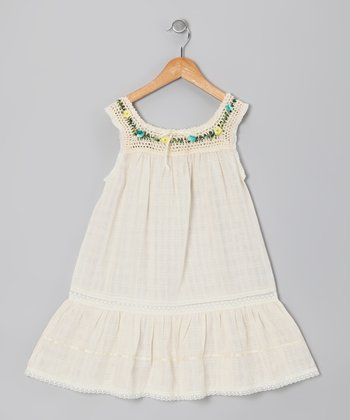 Natural Lucila Dress - Infant, Toddler & Girls