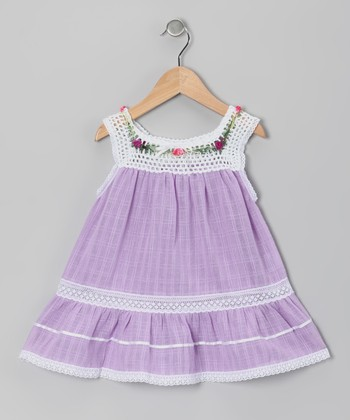 African Violet Lucila Dress - Toddler & Girls