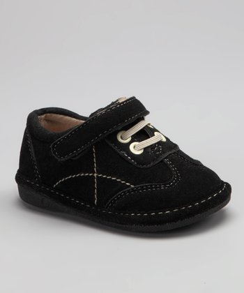 Black Suede Robert Squeaker Shoe