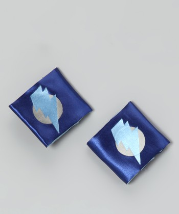 Blue & Light Blue Lightning Leader Power Cuffs
