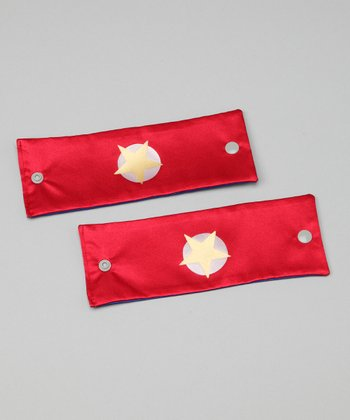 Red & Yellow Soaring Star Power Cuffs