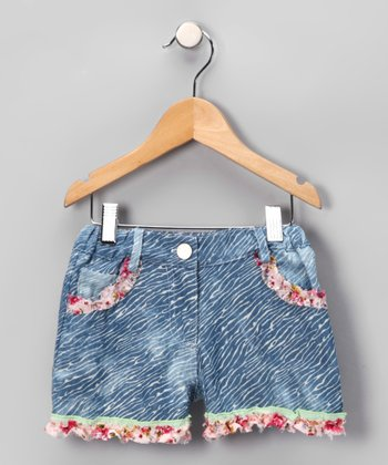 Denim Mimi Shorts - Infant, Toddler & Girls