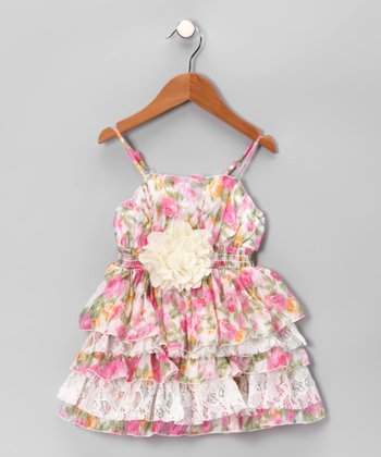 Pink Blossom Dress - Toddler & Girls