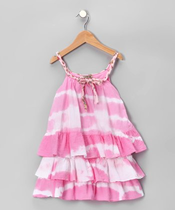 Pink Mimi Tiered Ruffle Top - Inant, Toddler & Girls