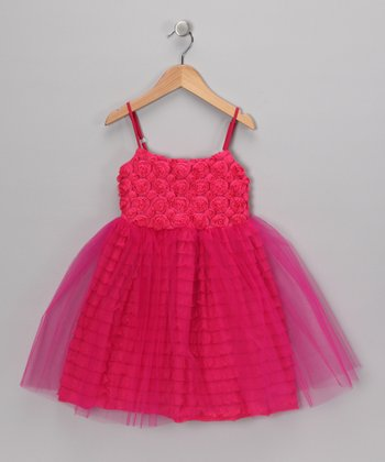 Fuchsia Elida Dress - Infant