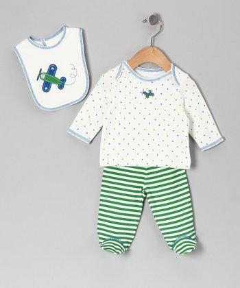 Green Fly Away Tee Set - Infant