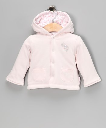 Pink Floral Sweet Reversible Jacket - Infant