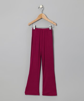 Fuchsia Pants - Infant, Toddler & Girls