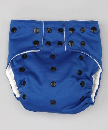 Navy Blue Pocket Diaper