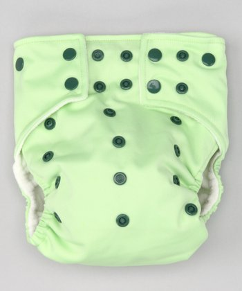 Green Pocket Diaper