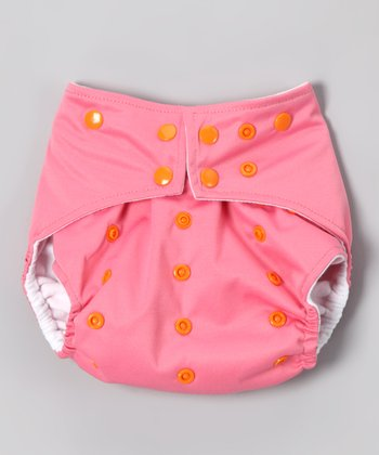 Pink Pocket Diaper