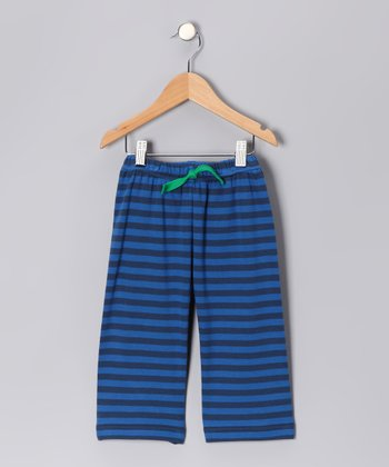 Blue Edward Organic Pants - Boys