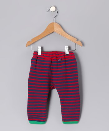 Red & Blue Thomas Organic Pants - Infant