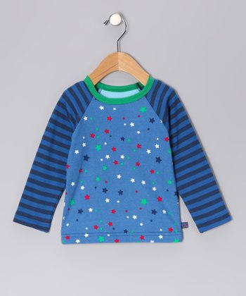 Blue William Organic Raglan Top - Boys