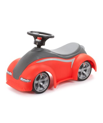 Red Sport Coupe Ride-On