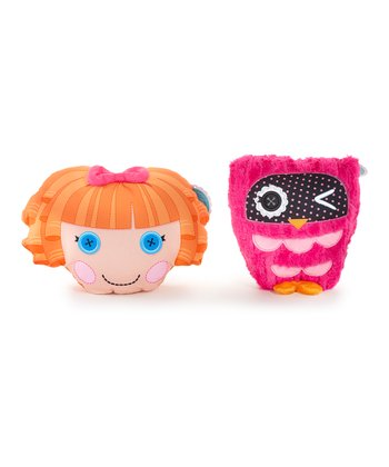 Lalaloopsy Bea Spells a Lot/Owl Reversible Pillow