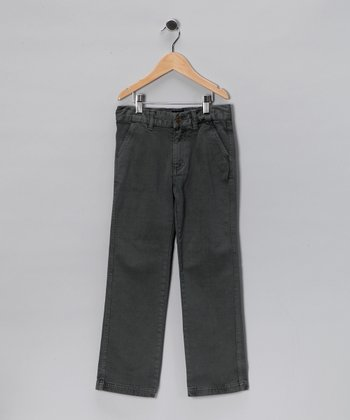 Black Chino Pants - Infant & Toddler