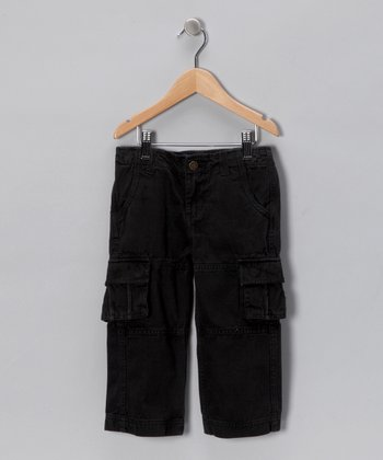 Black Cargo Pants - Infant, Toddler & Boys