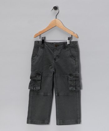 Gray Cargo Pants - Infant, Toddler & Boys