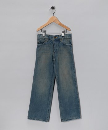 Whisker Wash Jeans - Infant & Boys