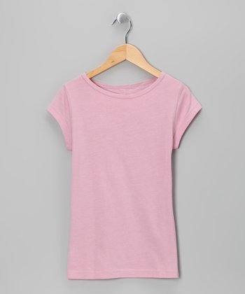 Pink Nectar Cap-Sleeve Tee - Girls