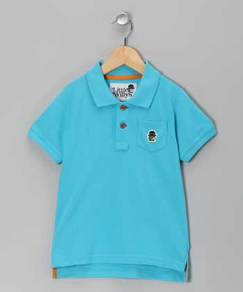 Turquoise Polo - Toddler & Boys