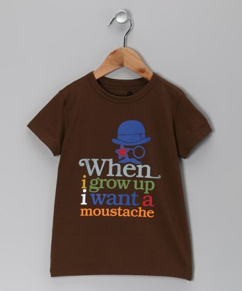 Chocolate Mustache Tee - Boys