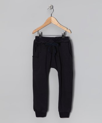 Navy No Plain Jane Pants - Toddler & Kids
