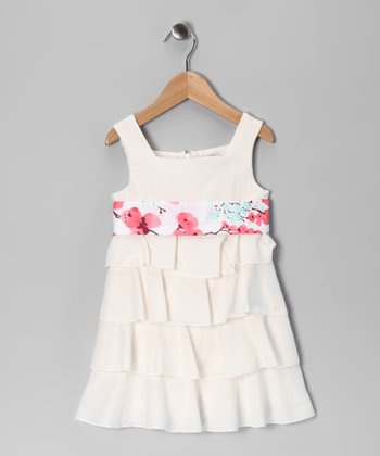 Ivory Voile Lottie Dress - Infant, Toddler & Girls