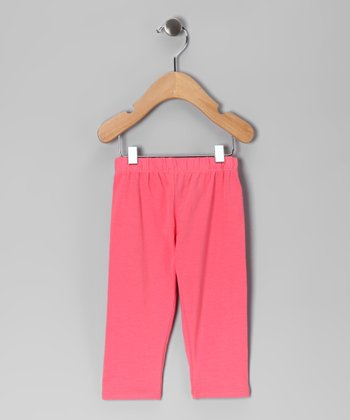 Coral Skinner Capri Pants - Infant, Toddler & Girls