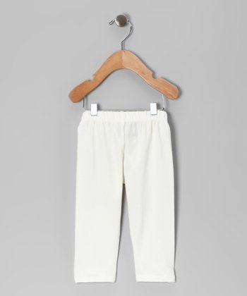 Ivory Skinner Capri Pants - Toddler & Girls