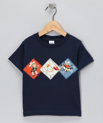 Blue Cowboy Tee - Toddler & Boys