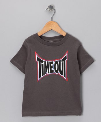 Gray 'Timeout' Tee - Infant, Toddler & Boys