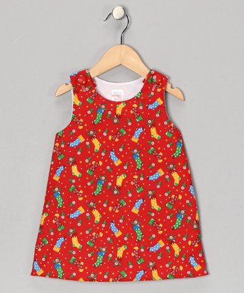 Red Stockings Jumper - Infant & Toddler