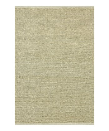 Ivory Green Valley Rug
