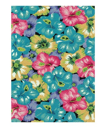 Blue & Pink Juliana Rug