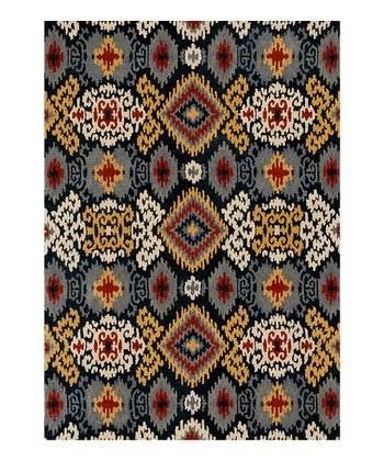 Midnight Leyda Wool Rug